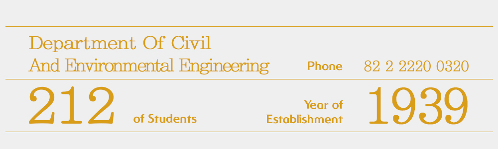 info Department Of Civil And Environmental Engineering
