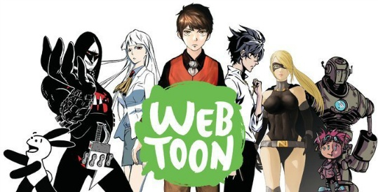 This picture is featuring main characters of some of the top-rated webtoons published by Naver.Photo courtesy of korcan50years.com