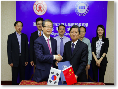 President Lee visits 4 Universities in China(2015.5.3~5.8)