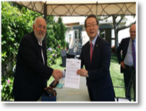 President Lee visits major universities in Sweden and Italy (06.28.2015~07.03)