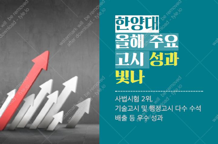 汉阳大学今年主要考试中获得的喜人成果