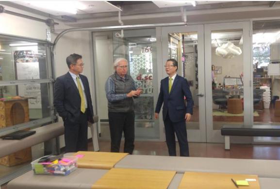 汉阳大与美国斯坦福大学在建设环境领域扩大合作可能实现