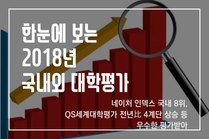 2018韩国国内外大学评价结果一览