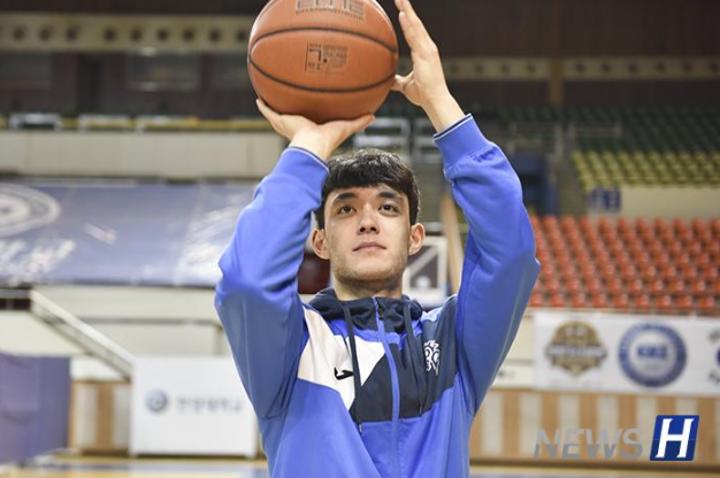 伯德苏赫,为成为韩国篮球国家代表队选手而奋斗