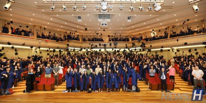 汉阳大学,国际夏季学校51个国家1700余名学生毕业
