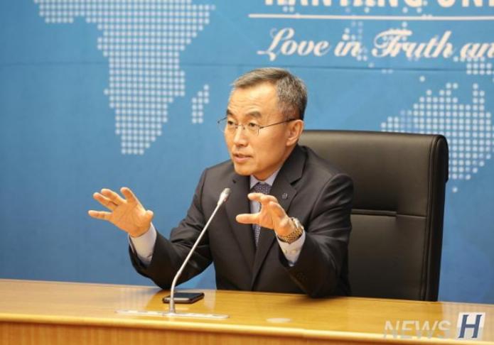 """[采访] """"金宇承""""就任汉阳大学新任校长…希望以3S战略打造与世同行的大学"""