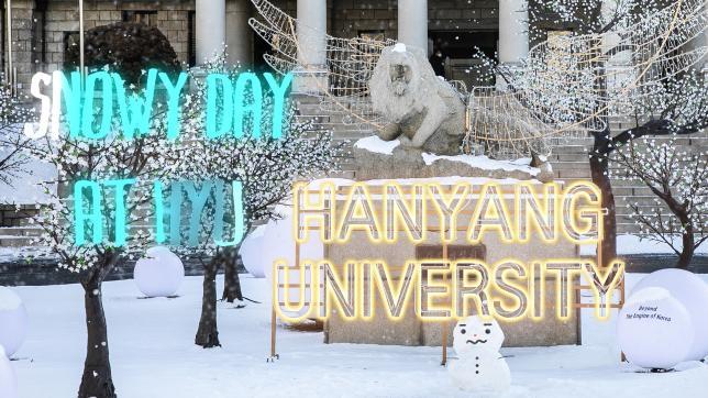Snowy Day at HYU 눈 내리는 한양의 겨울왕국
