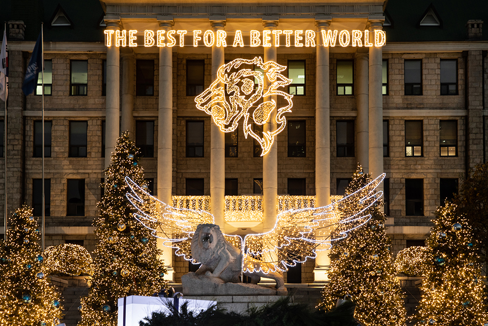 THE BEST FOR A BETTER WORLD
