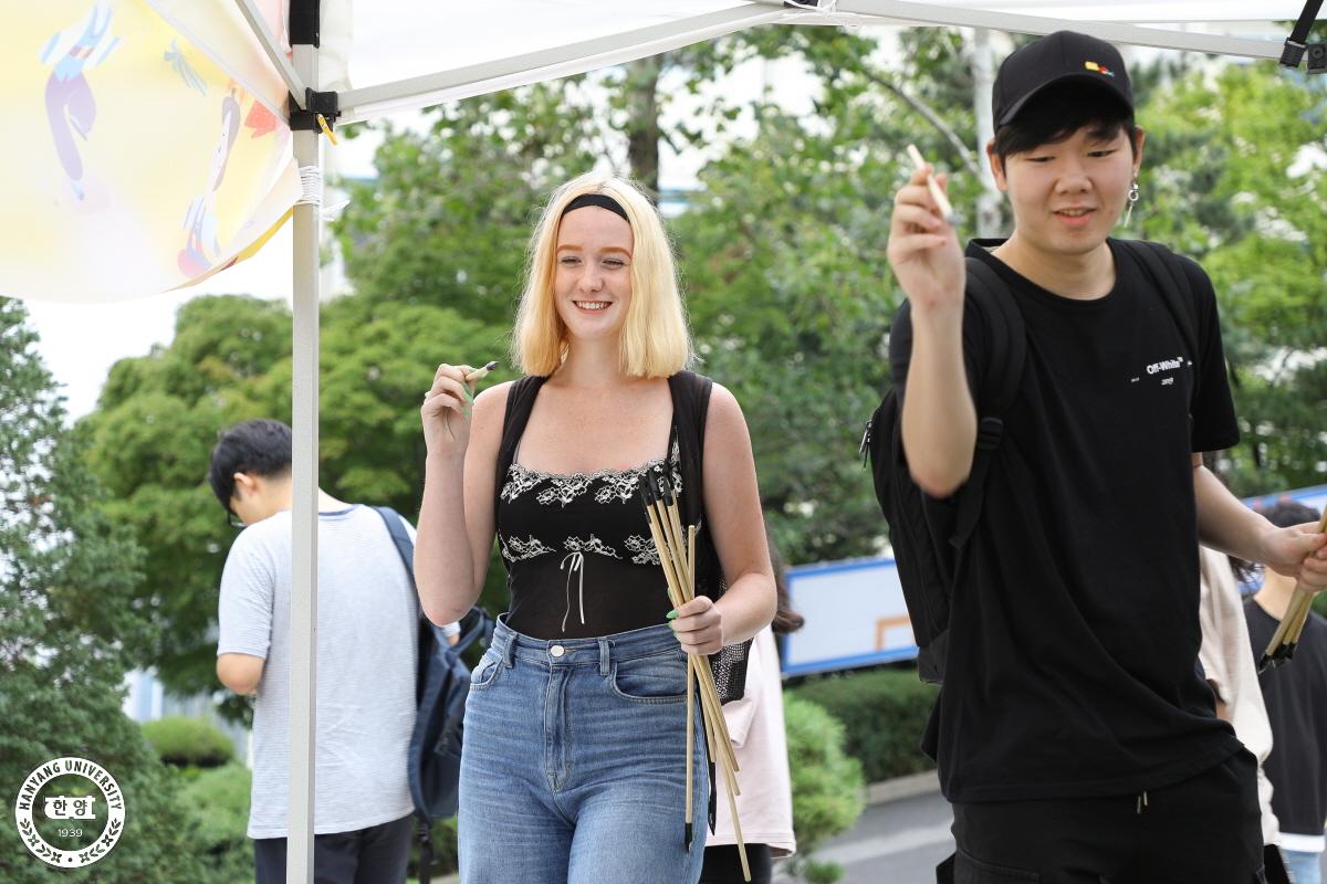공과대학 주최, 외국인 유학생과 함께 하는 추석맞이 행사 (2019. 9. 10)