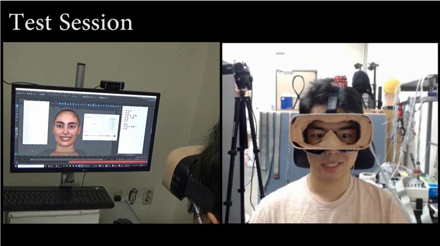 임창환 교수, VR 아바타에 사용자 표정을 실시간 투영하는 기술 개발