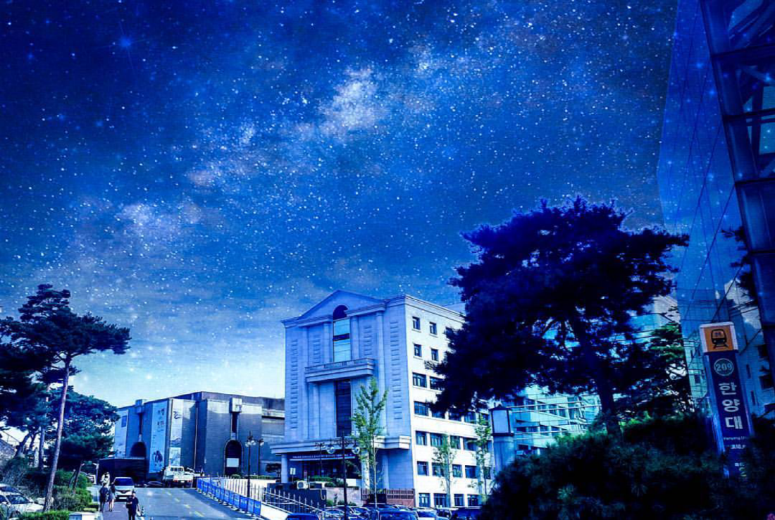 한 고등학생이 전해온 우주 공간 속 한양캠퍼스
