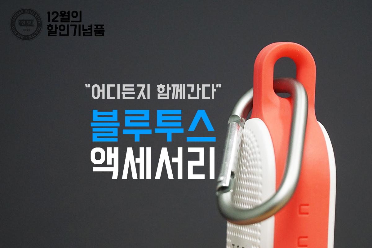 """12월의 할인기념품 """"블루투스 액세서리"""""""