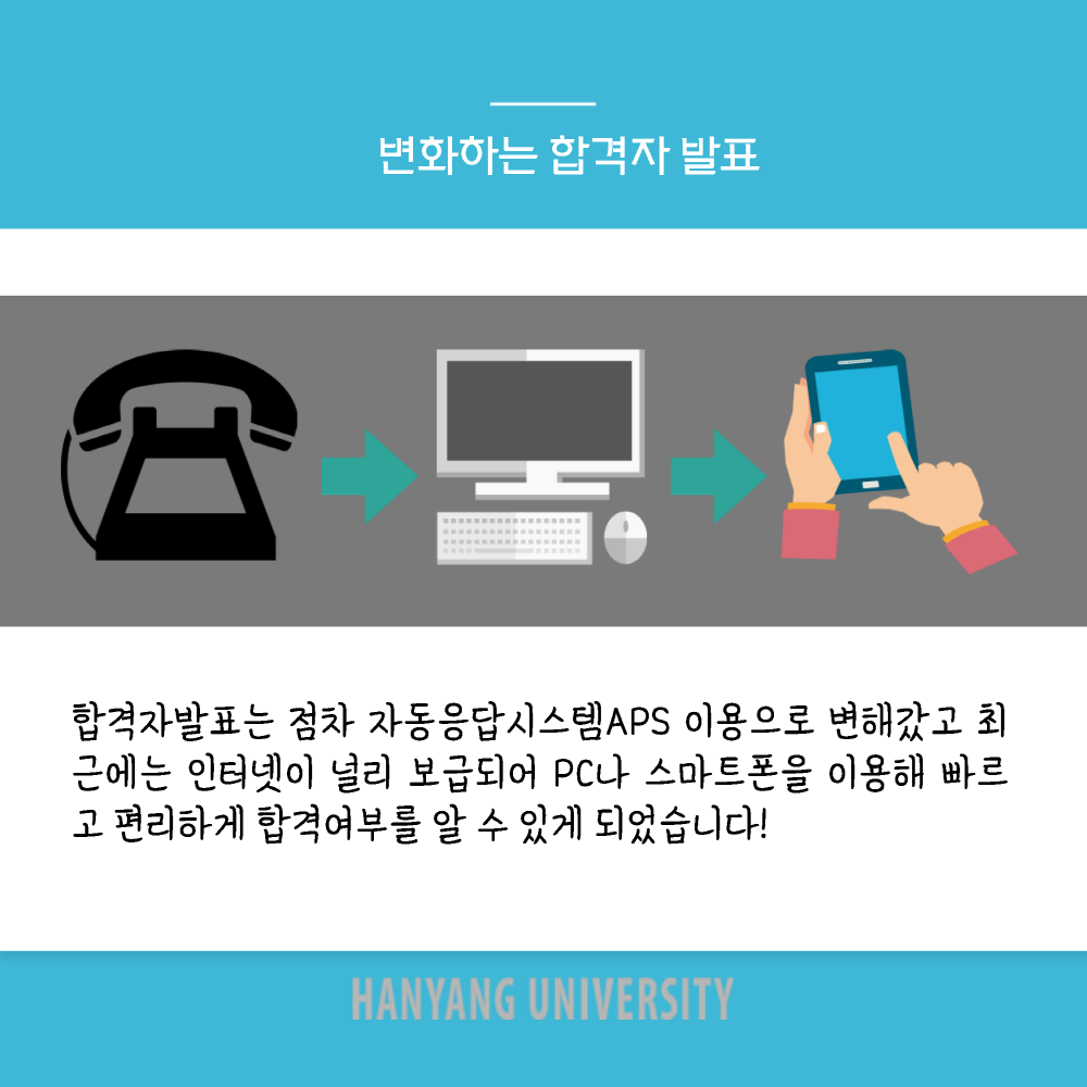 [응답하라 한양2020] (1) 합격자발표